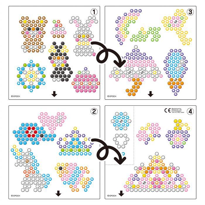 Aqua Beads Parıltılı Tasarım Seti