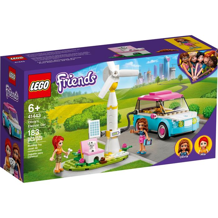 Lego Friends 41443 Olivias Electric Car
