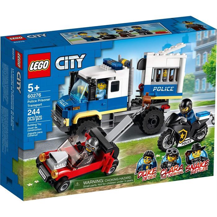 Lego City 60276 Police Prisoner Transport