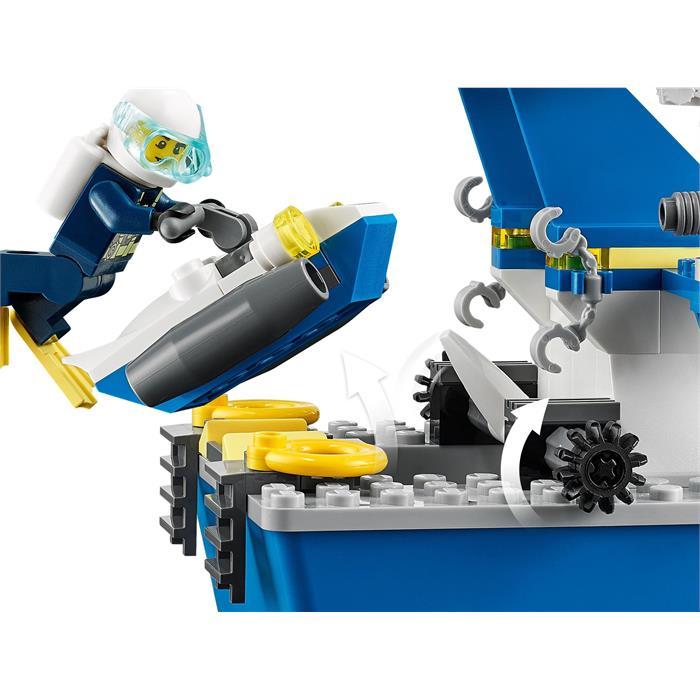 Lego City 60277 Police Patrol Boat