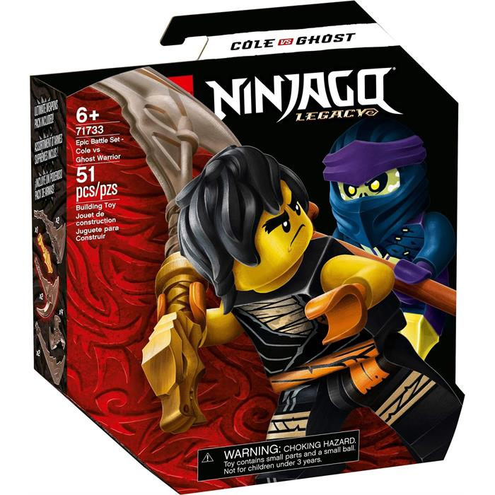Lego Ninjago 71733 Cole vs Ghost Warrior