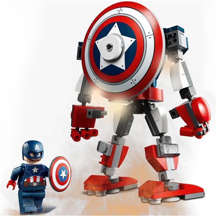 Lego Super Heroes 76168 Captain America Armor