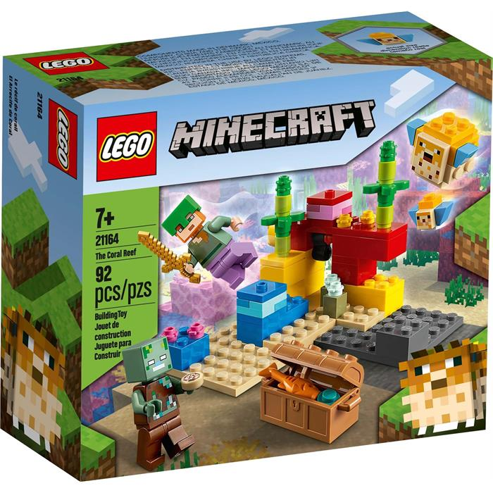 Lego Minecraft 21164 Skeleton Attack