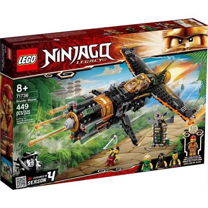 Lego Ninjago 71736 Boulder Blaster