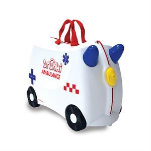 Trunki Çocuk Bavulu - Ambulans Abbie (Antibakteriyel)
