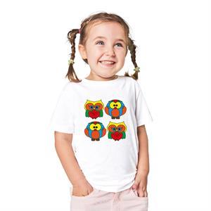 Paint and Wear T-Shirt Boyama Seti - Baykuş (4-6 Yaş)