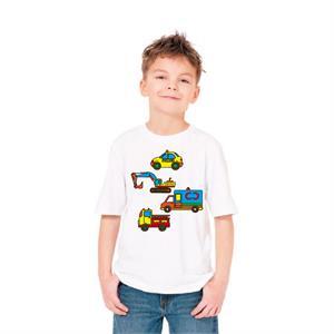 Paint and Wear T-Shirt Boyama Seti - Araçlar (7-8 Yaş)