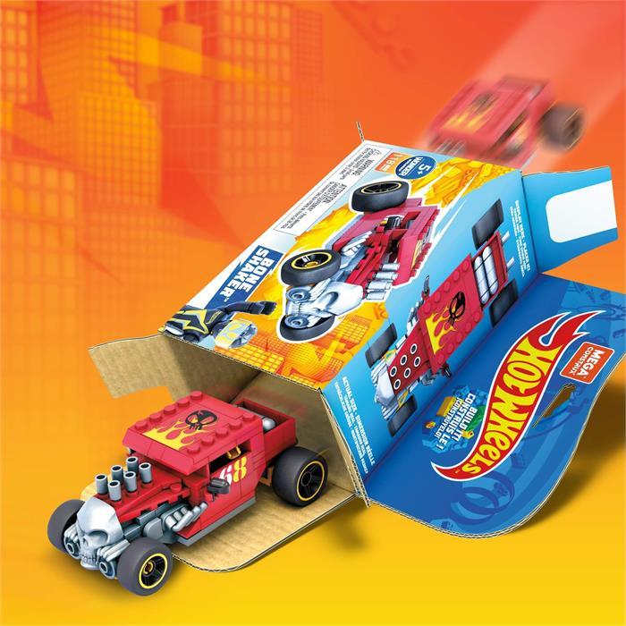 Mega Construx Hot Wheels Blok Araçlar Serisi - Bone Shaker