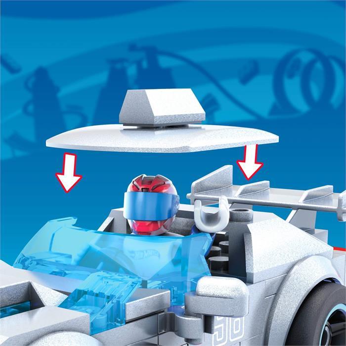 Mega Construx Hot Wheels Blok Araçlar Serisi - GT Hunter