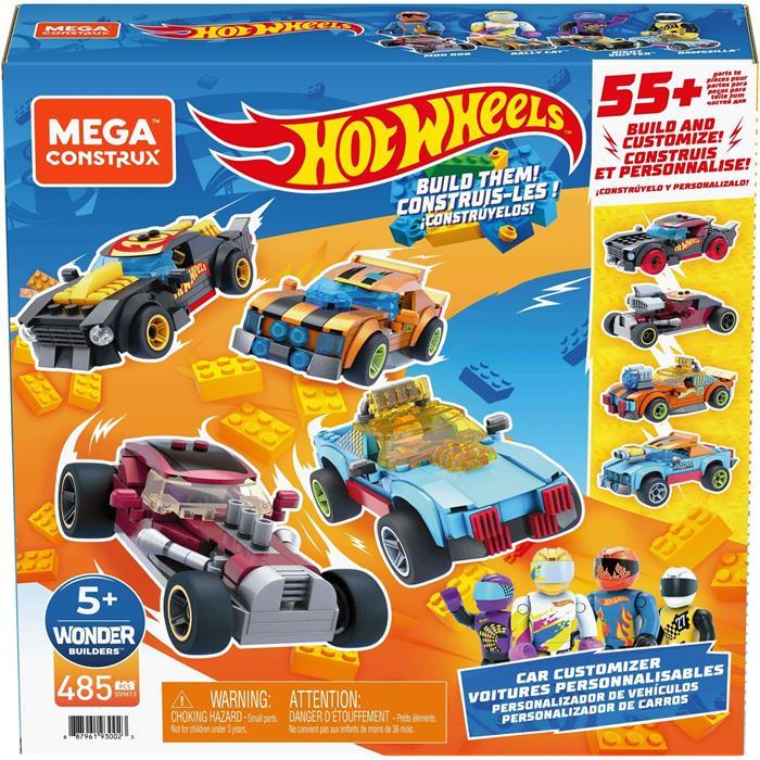 Mega Construx Hot Wheels Aksesuarlı Dörtlü Araç Seti