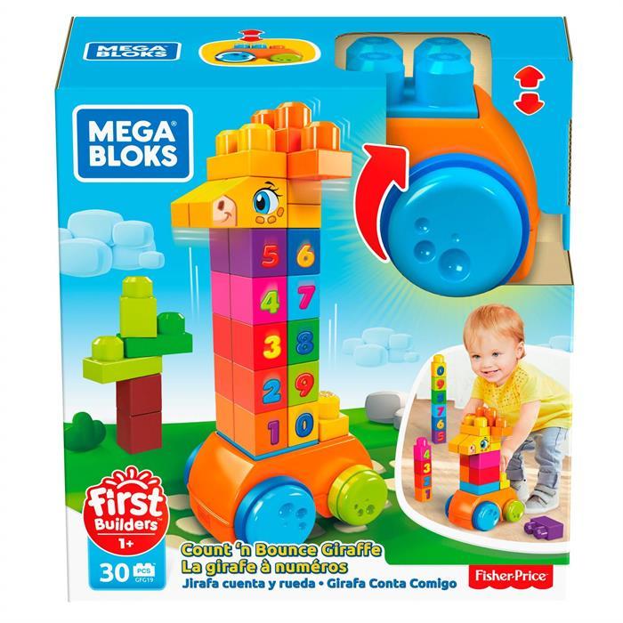Mega Bloks First Builders Matematik Arkadaşı Zürafa