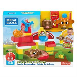 Mega Bloks First Builders Peek a Blocks Çiftlik Oyun Seti