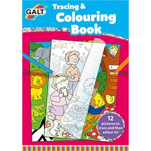 Galt Tracing and Colouring Book