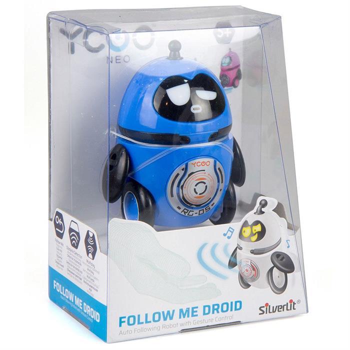 Silverlit Follow Me Droid Robot Mavi