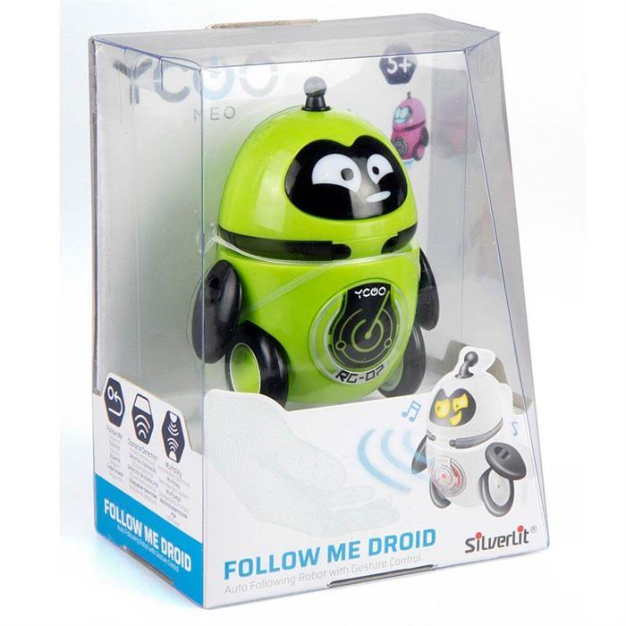 Silverlit Follow Me Droid Robot Yeşil