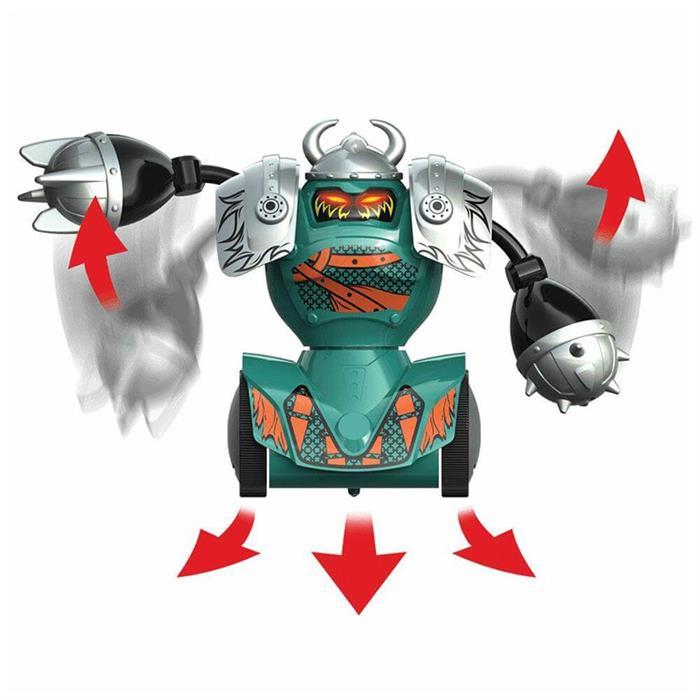 Silverlit Robo Kombat Viking Tekli Set Yeşil