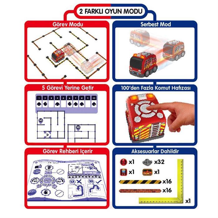 Silverlit Tooko Programlanabilen İtfaiye Aracı Oyun Seti