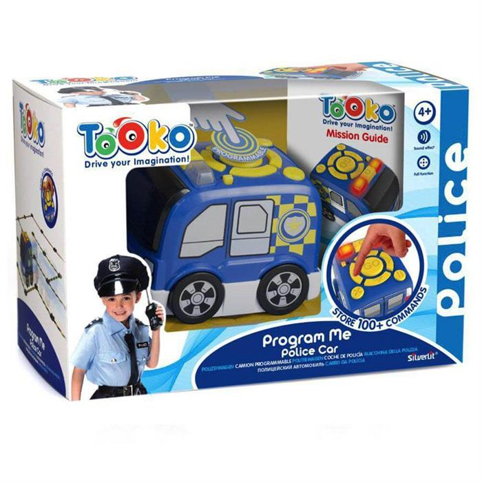 Silverlit Tooko Programlanabilen Polis Aracı Oyun Seti