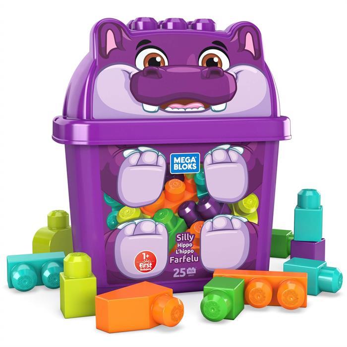 Mega Bloks Sevimli Hayvanlar Blok Kutusu - Hippo