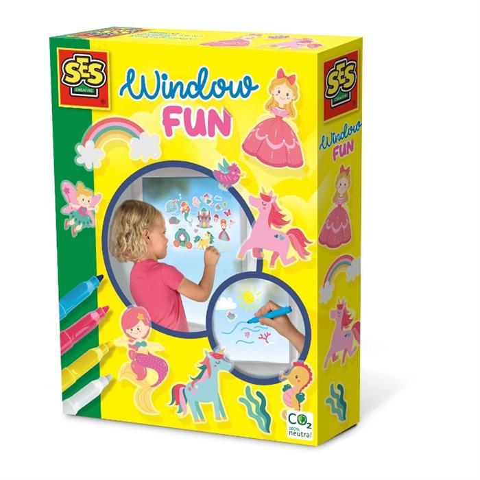 SES Creative Tak Çıkar Pencere Eğlencesi - Prenses Dünyası