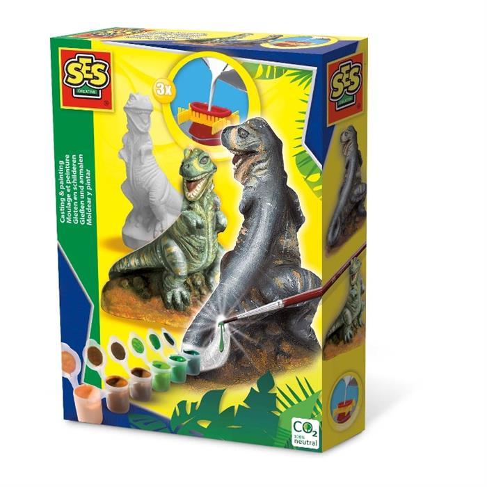 SES Creative Kalıba Dök ve Boya - T-Rex