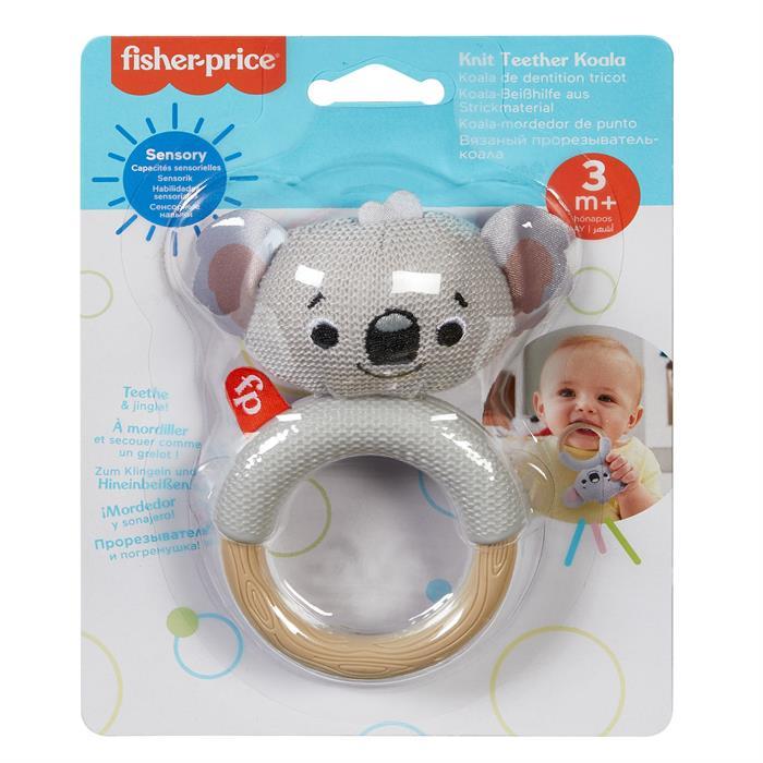 Fisher Price Örgü Dişlikler, Bebek Diş Kaşıyıcıları - Koala