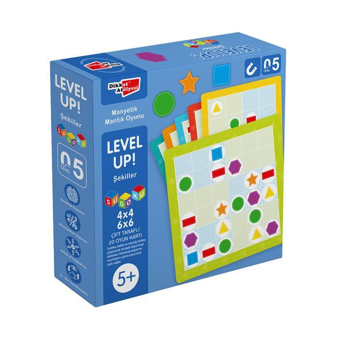 Level Up! 5 - Şekiller Sudoku