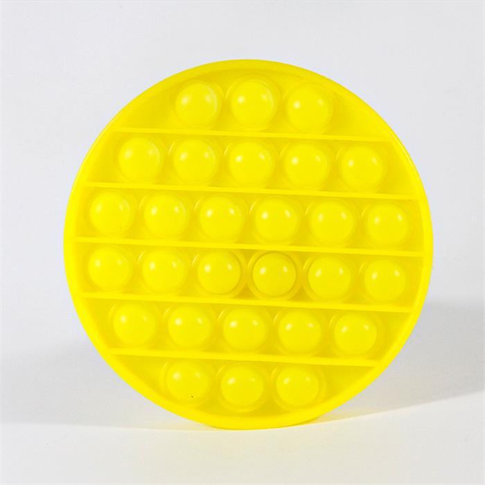 Pop It Pıtpıt Oyunu - Sarı Yuvarlak