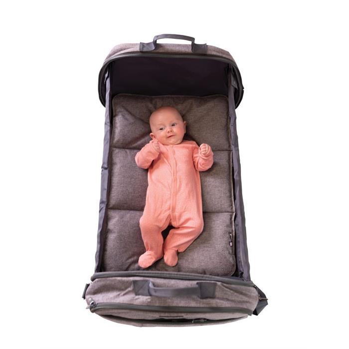 Bizzi Growin Pod Bag Portatif Yatak Olan Anne Bebek Bakım Çantası