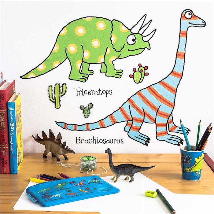 Tyrrell Katz Çocuk Odası için Dekoratif Duvar Çıkartması - Dino