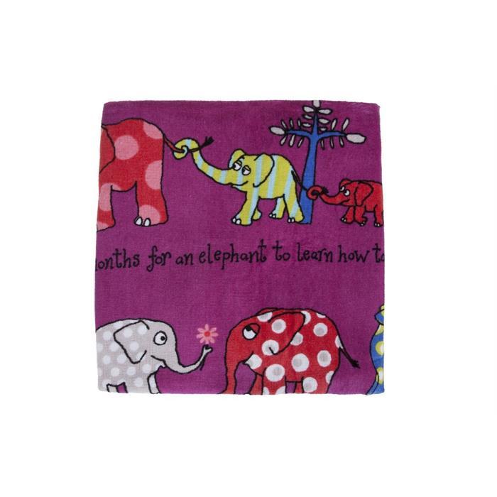 Tyrrell Katz Havlu - Elephants