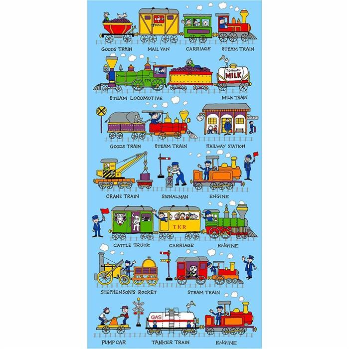 Tyrrell Katz Havlu - Trains