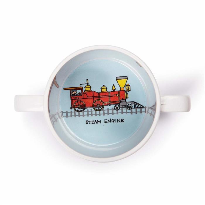 Tyrrell Katz Kulplu Alıştırma Bardağı - Trains