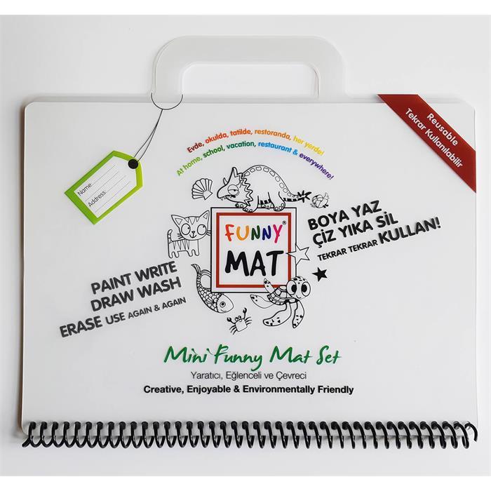 Akademi Çocuk Funny Mat - Mini Set (Travel Set) 16x21cm