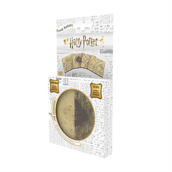 Wizarding World Harry Potter Lisanslı Marauders Map Bardak Altlığı