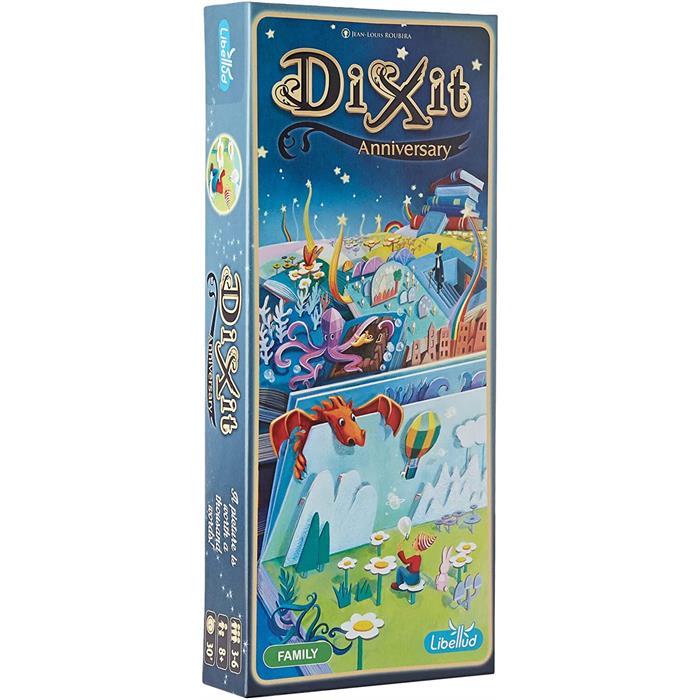 Asmodee Dixit 9 Anniversary (Yıldönümü Kartları)