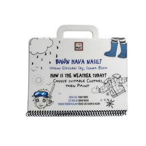 Funny Mat Mini Set - Bugün Hava Nasıl? (19x26cm)