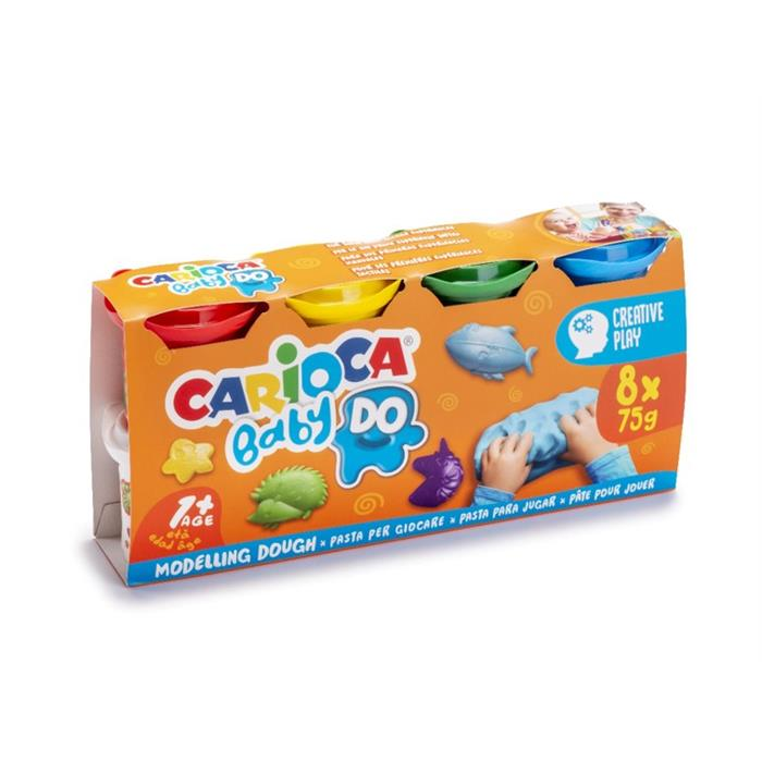 Carioca Bebek Oyun Hamuru 8x75gr