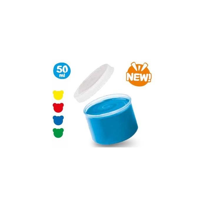 Carioca Bebek Süper Yıkanabilir Parmak Boyası - 8x50gr