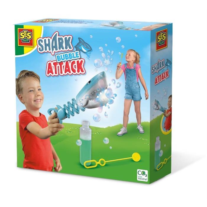 SES Creative Köpekbalığı Baloncuk Saldırısı
