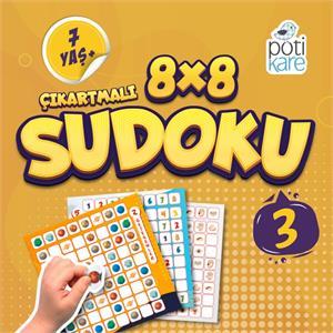 8x8 Çıkartmalı Sudoku - 3