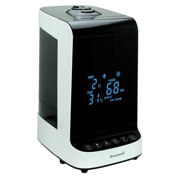 Weewell WHC752 İyonizerli Sıcak Soğuk Buhar Makinesi - Uzaktan Kumandalı - Dokunmatik Ekranlı