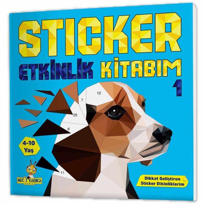 Mucit Karınca Sticker Puzzle Etkinlik Kitabım (4-10 Yaş)