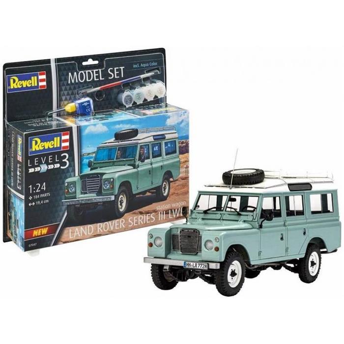 Revell Model Set Land Rover III