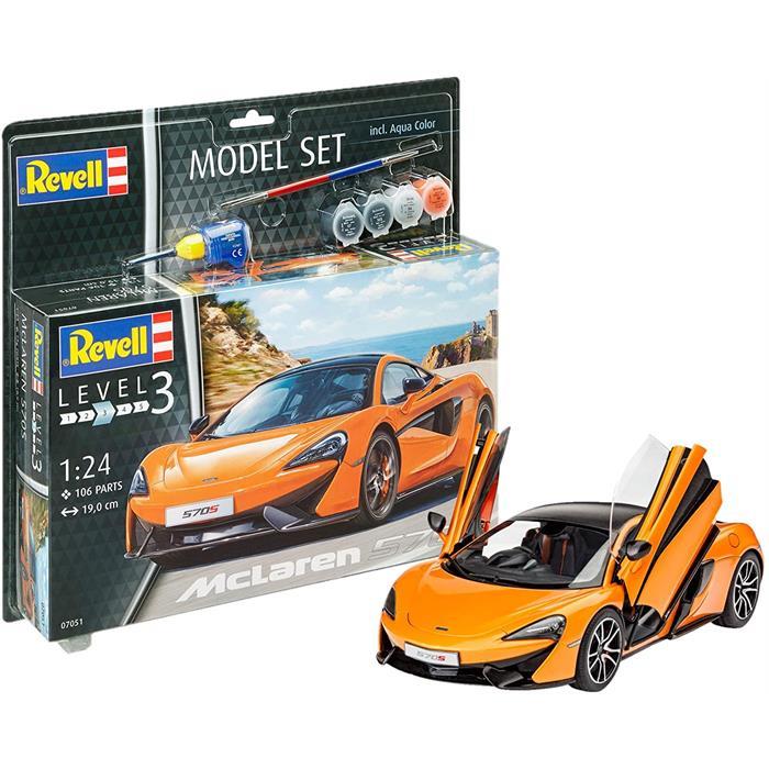 Revell Model Set McLaren 570S 1:24