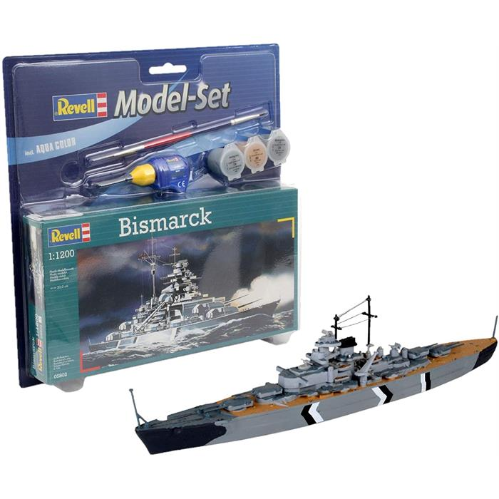 Revell Model SetBismarck 1:1200