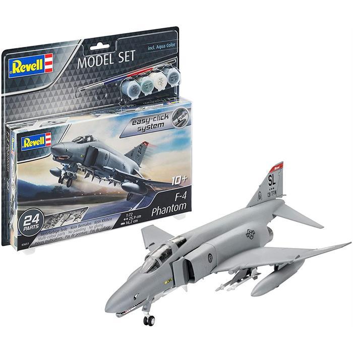 Revell Model Set F-4E Phantom
