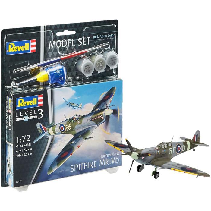 Revell Model Set Supermarine Spitfire Mk.Vb 1:72