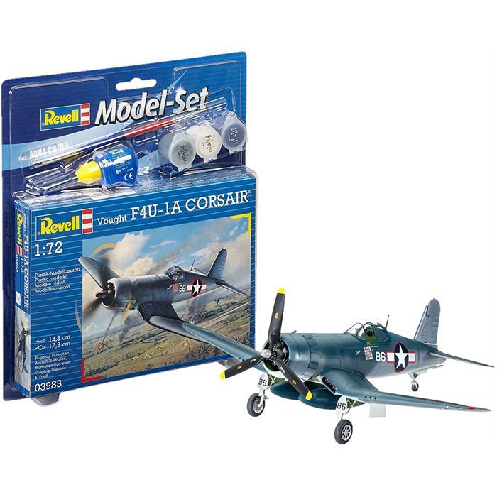 Revell Model Set Vought F4U