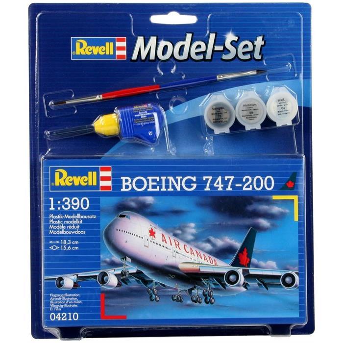 Revell Model Set Boeing747